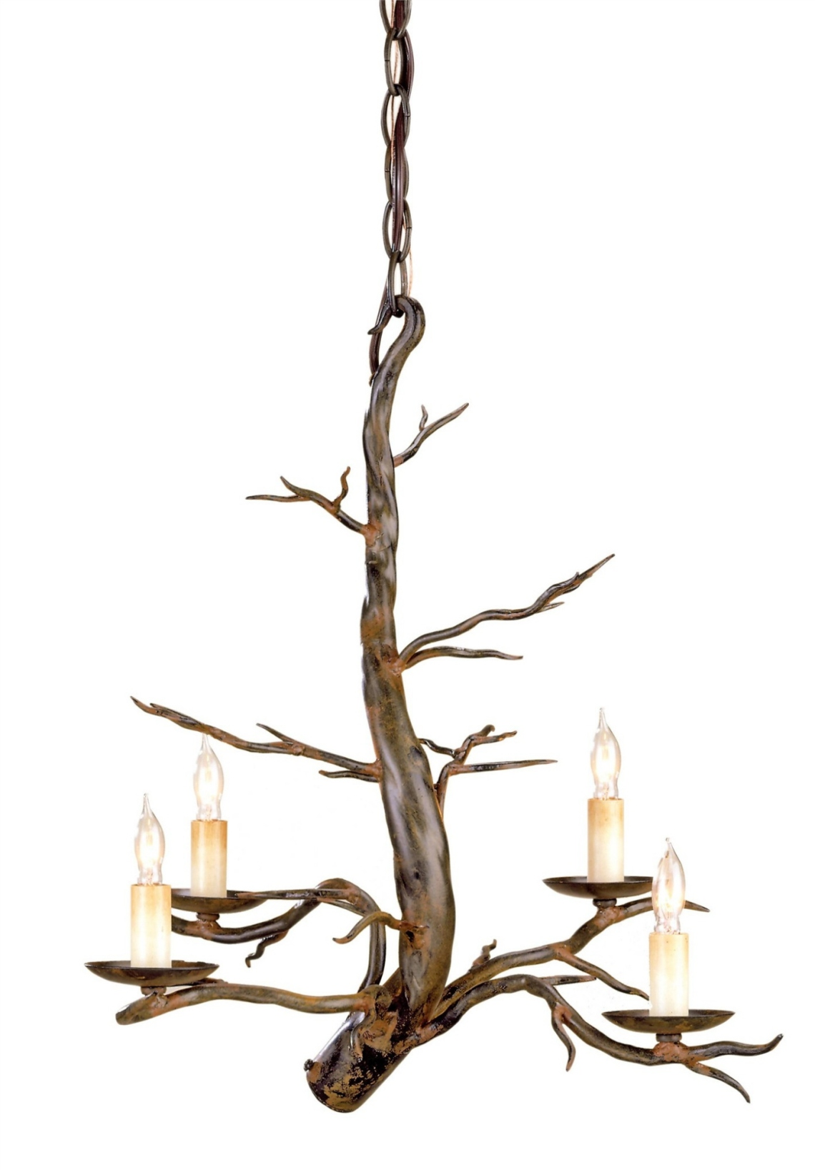 tree top chandelier